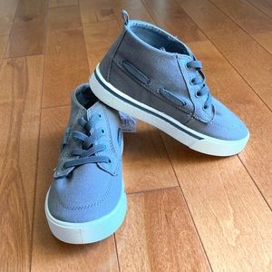 Oshkosh Grey Barclay High Top Shoe size 13 NEW